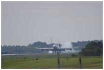 20150920_さくら山から見える着陸.jpg